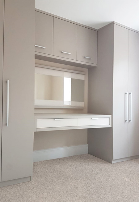 Gliderobes Sliding Fitting Wardrobes Quality Hand Made to Order Bedroom Furniture Portrait Image 014