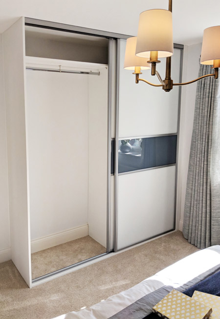Gliderobes Sliding Fitting Wardrobes Quality Hand Made to Order Bedroom Furniture Portrait Image 026