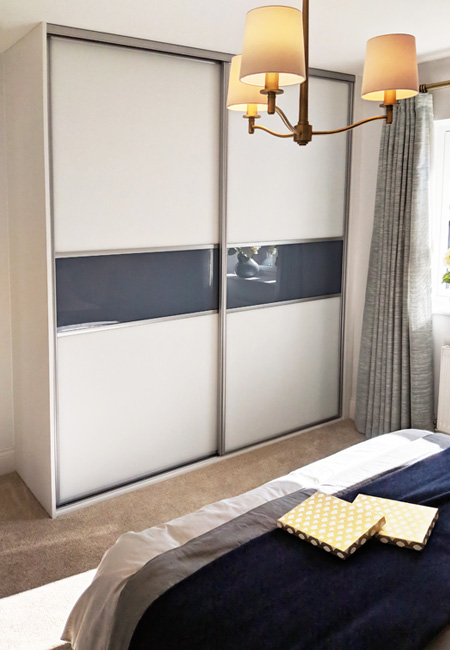 Gliderobes Sliding Fitting Wardrobes Quality Hand Made to Order Bedroom Furniture Portrait Image 027