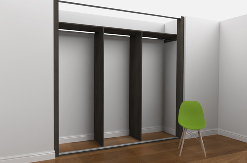 Gliderobes Sliding Fitted Wardrobes Example 003